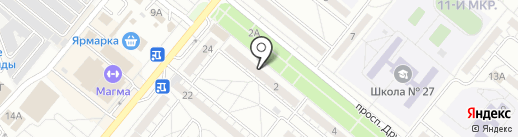 Хозяюшка на карте Волжского