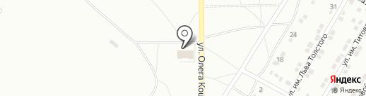 Пожарная часть №13 на карте Волжского