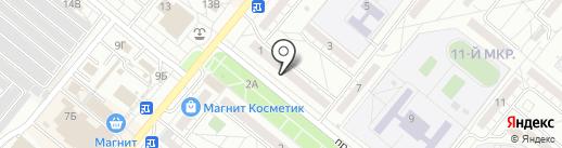 Магазин игрушек на карте Волжского