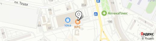 Жар-Пицца на карте Волжского