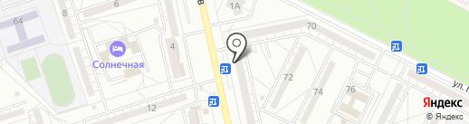 Лотос на карте Волжского