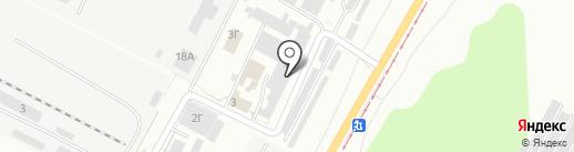 Редкар на карте Волжского