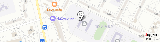 Средняя общеобразовательная школа №11 им. О.В. Скрипки на карте Волжского