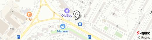 Планета Жизнь на карте Волжского