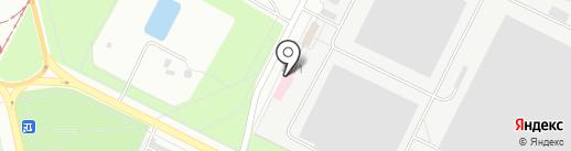 Волгоградский областной бизнес-инкубатор, ГАУ на карте Волжского