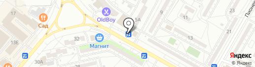 Быстроденьги на карте Волжского