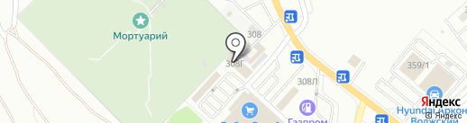 ТК Мегаполис на карте Волжского