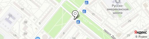 Волжские колбасы на карте Волжского