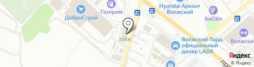 Мир аккумуляторов на карте Волжского