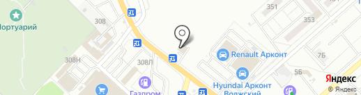 Эконом Шина на карте Волжского