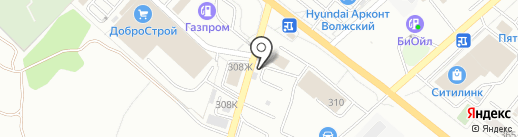 Волжский Лада на карте Волжского