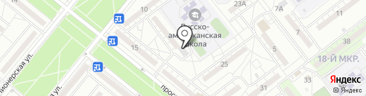 Радеж на карте Волжского