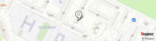 СВЕТский ДОМ на карте Волжского