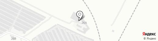 ВРК на карте Волжского