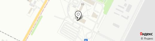 Сваркон на карте Волжского