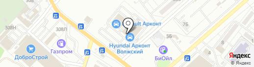 Ремшина на карте Волжского
