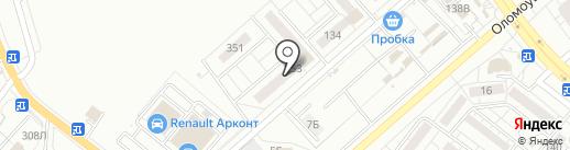 ГРАТ на карте Волжского