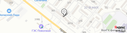 Евроспа на карте Волжского