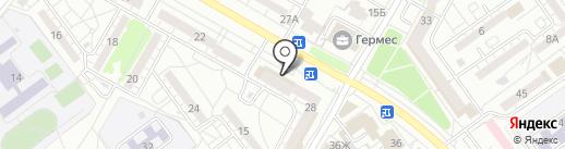 Фабрик Жалюзи на карте Волжского