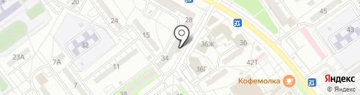 Анфиса на карте Волжского