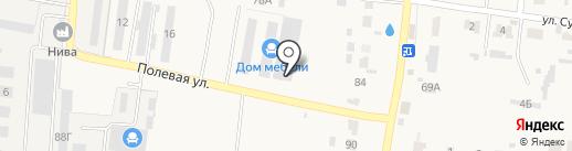 ЗАРОН на карте Богословки