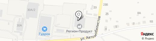 Регион-хлеб на карте Богословки