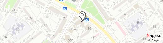 Саванна на карте Волжского