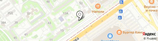 Квадратные метры на карте Волжского