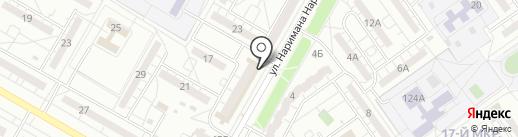 Бирман на карте Волжского