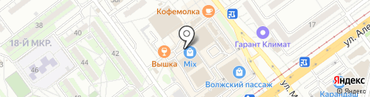 Адреналин Лайф на карте Волжского