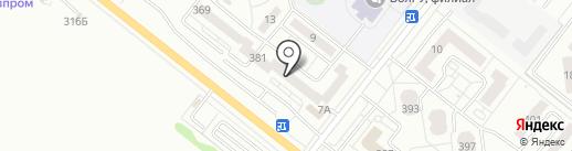 Четыре глаза на карте Волжского