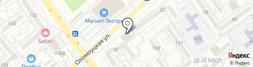 Облик на карте Волжского