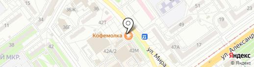 Магазин праздника на карте Волжского