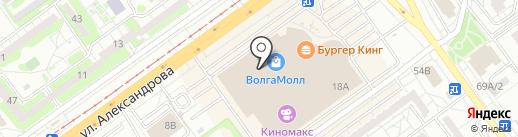 Швейная мастерская на карте Волжского