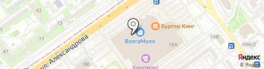 Кошкин дом на карте Волжского