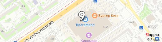 Магазин гироскутеров на карте Волжского