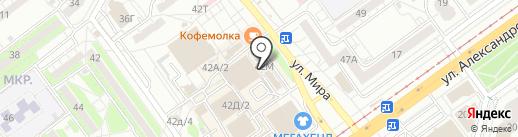 Душевное пиво на карте Волжского