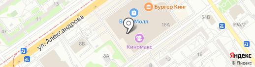 Фаббрис на карте Волжского