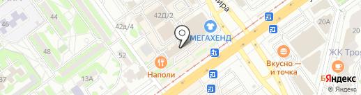 Медведорс на карте Волжского