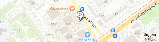 Corto на карте Волжского