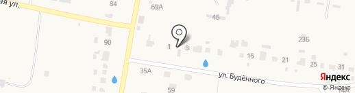 Транспортная компания на карте Богословки