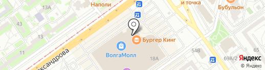 Фартук-Мания на карте Волжского