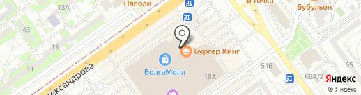 НаЗдоровье.ru на карте Волжского