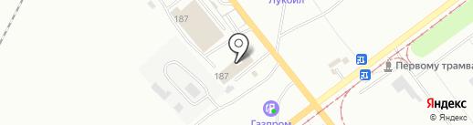 Сельхозавтодеталь на карте Волжского