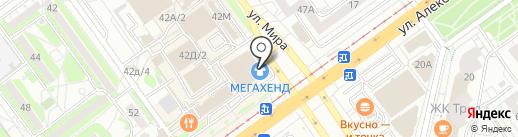 Банкомат, Нокссбанк, ПАО на карте Волжского