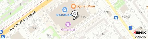 Веселый дом на карте Волжского