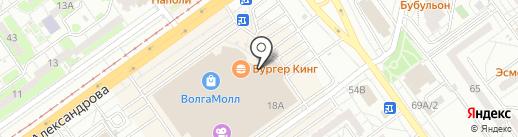 Линзсити на карте Волжского
