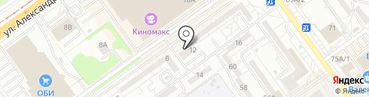 Проект на карте Волжского
