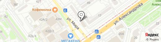 1xставка на карте Волжского