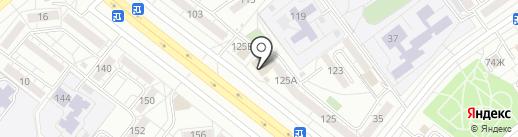 Аттол на карте Волжского